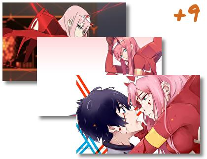 Darling In The Franxx theme pack