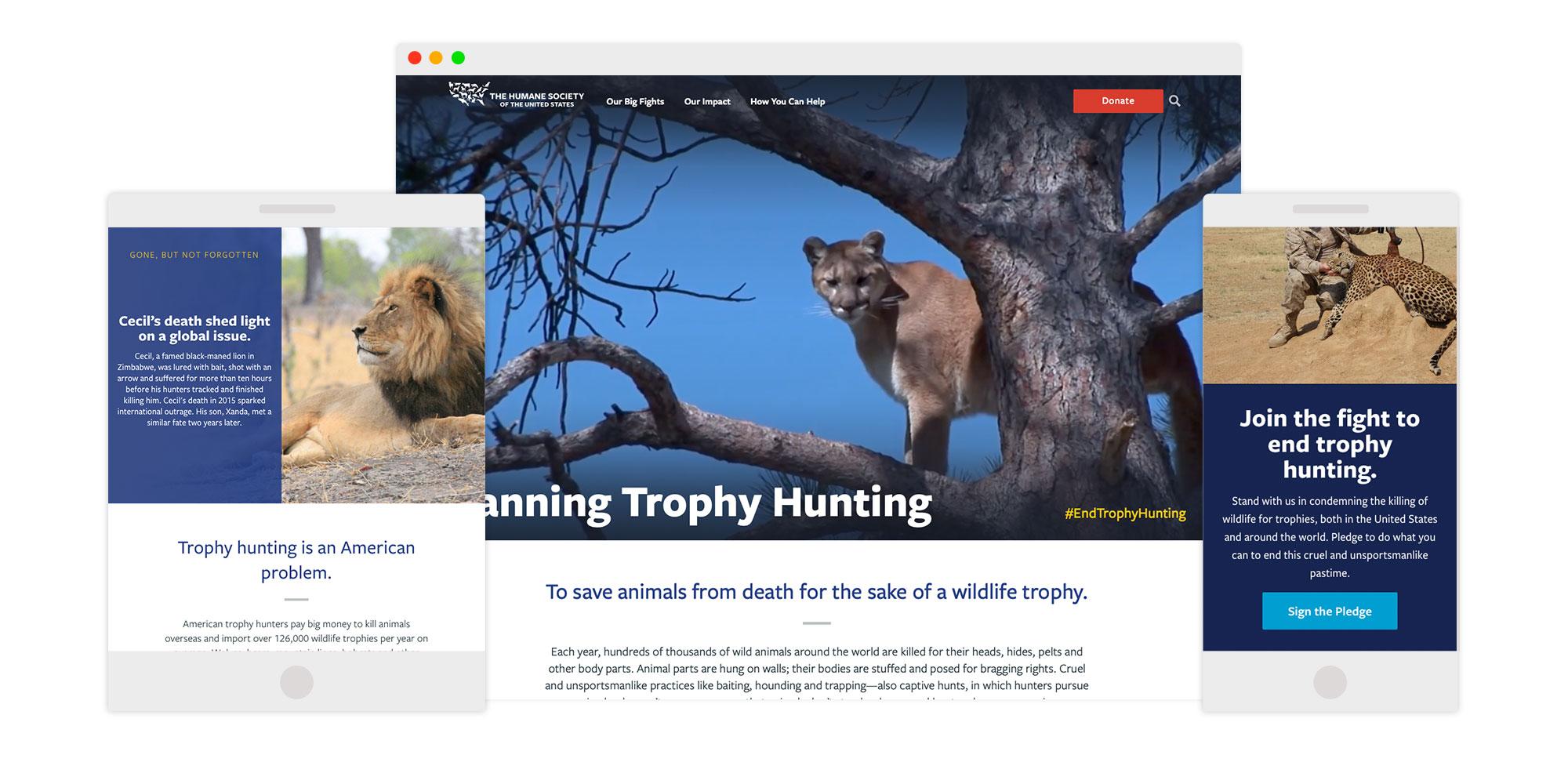 Ban Trophy Hunting