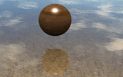 WebGL scene for Water Material