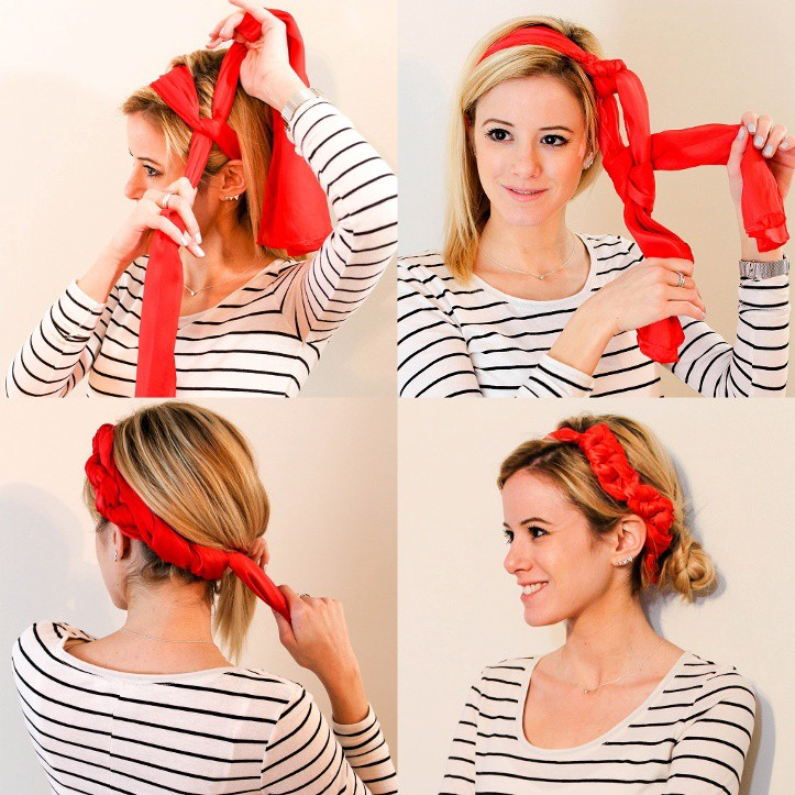 And 'How to tie a head wrap' tutorial.