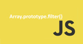 featured image thumbnail for post Javascript Array Methods - Part1 - filter