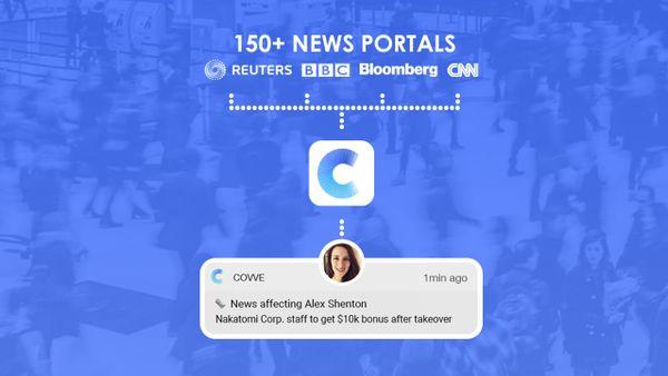 Covve news engine image