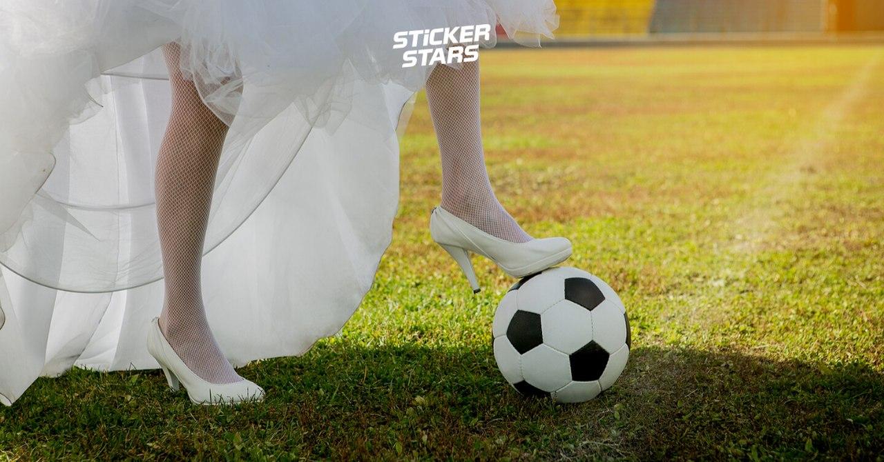 Auch ein sportliches Hochzeitsmotto ist eine tolle Idee.
