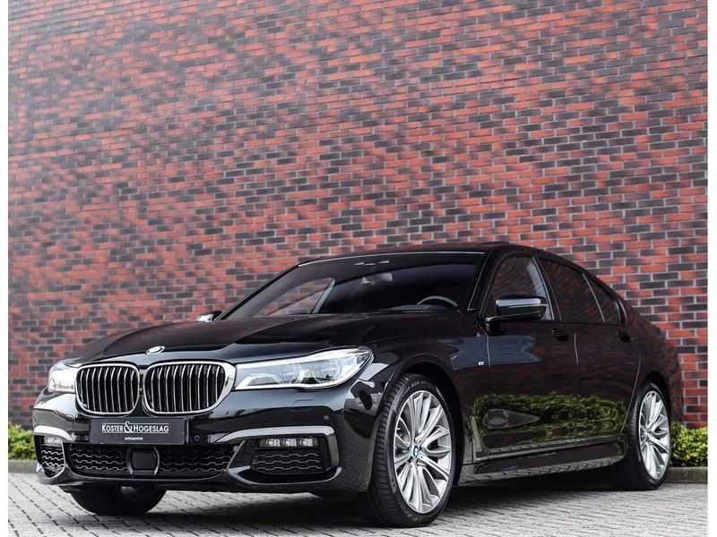 BMW 7 Serie 750d xDrive *M-sport*Head-Up*Asistant Plus* afbeelding 9