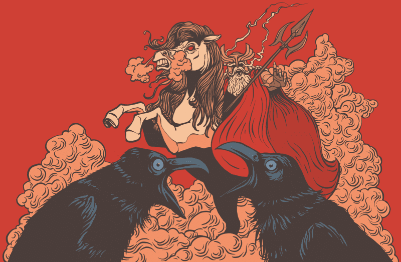 Odins wild hunt is probably the origin of Santa