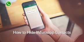 How to Hide WhatsApp Contacts