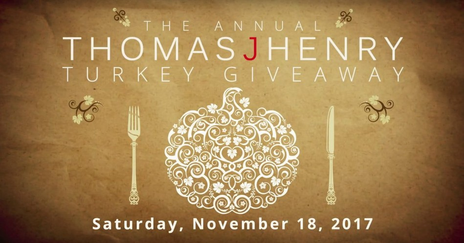 Thomas J Henry Turkey Giveaway 2017