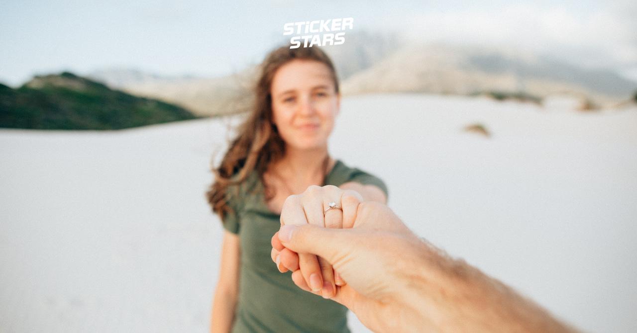 Ideen Heiratsantrag: Ganz romantisch am Strand