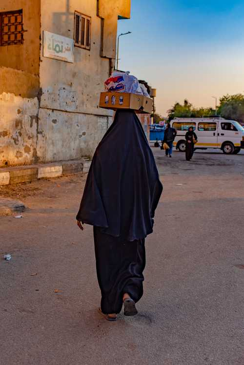 Woman in Luxor