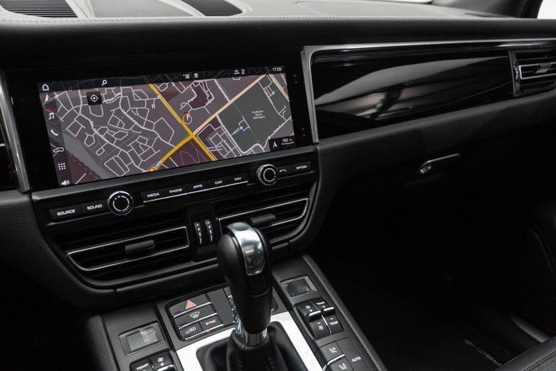 Porsche Macan 3.0 S 354pk PDK Black Design Nieuw Model (Krijt) Luchtvering Panoramadak ACC Sportleder+Memory Full-Led Bochtenverlichting Navi/High Privatglass AppleCarplay 21'' Camera Pdc Trekhaak afbeelding 23