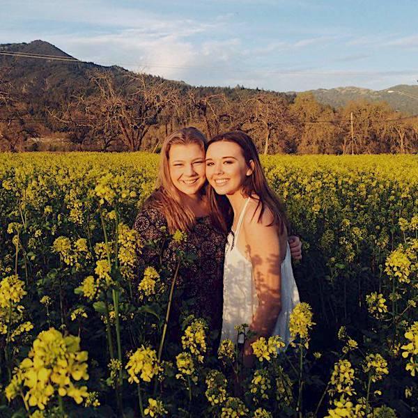 Lizzie and Lauren