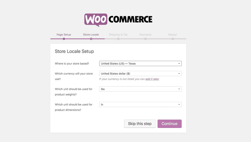 Preview WooCommerce 2