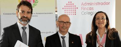 Entrevista a Salvador Díez, presidente del Consejo General de Colegios de Administradores de Fincas (CGCAFE)