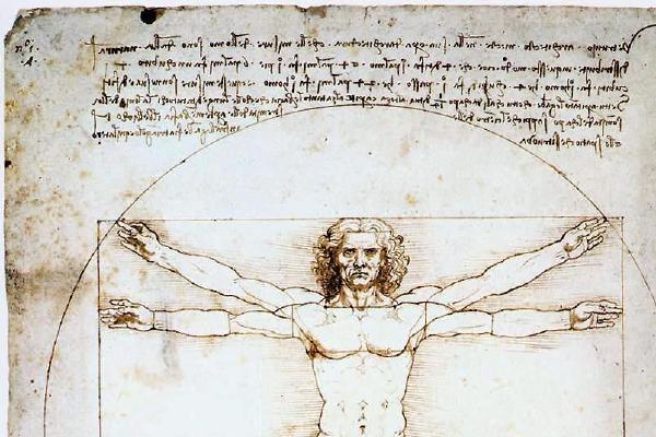 image from An Early Vegetarian: Leonardo da Vinci (1452-1519)