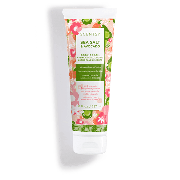 Sea Salt & Avocado Body Cream