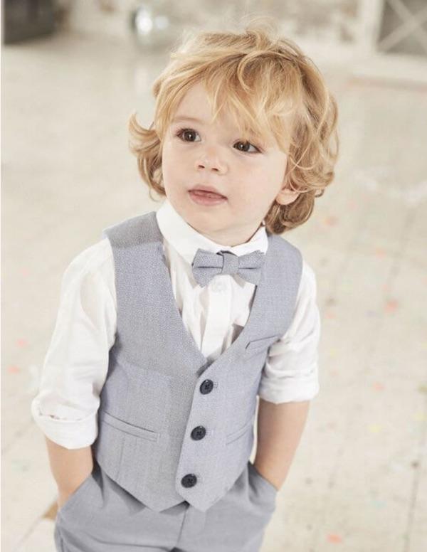 Gilet de costume sans manches pour enfants