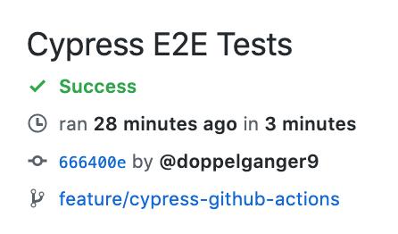 Cypress E2E Test step took 3 minutes