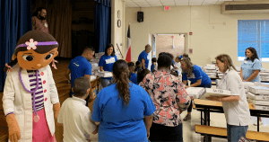 SA YES School Supply Distribution Back to Basics Project - The PM Group - San Antonio Advertising Agency