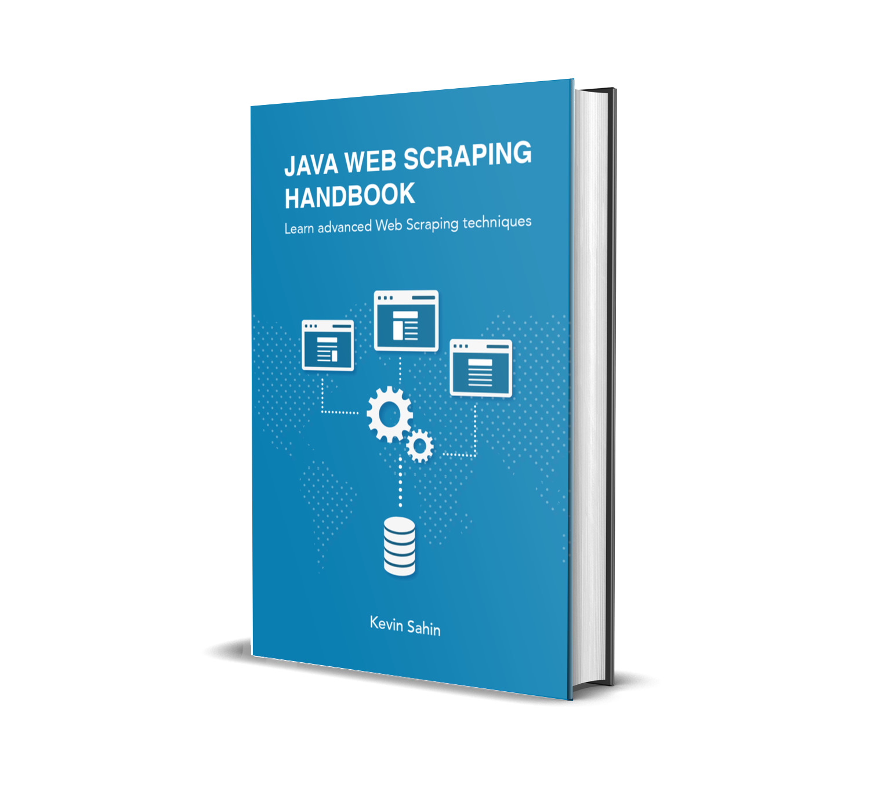Java Web Scraping Handbook Cover