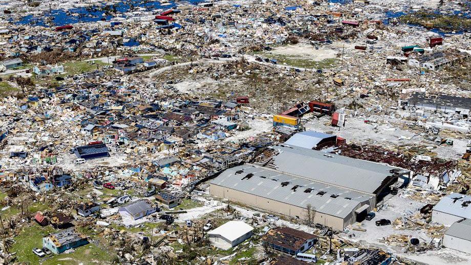 Hurricane Dorian destruction (Getty Images)