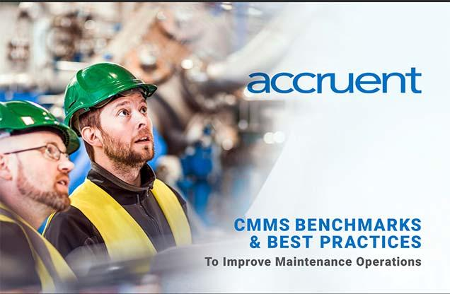 Accruent - Resources - eBooks - 2019 CMMS Benchmarks & Best Practices to Improve Maintenance Operations - Hero
