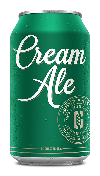 Genesee Cream Ale can
