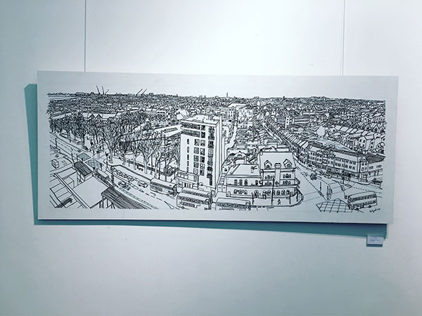 Drawing of Walthamstow Horizon