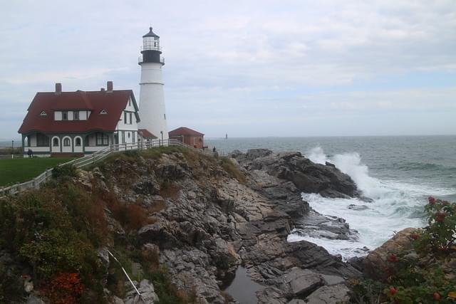 Lighthouse in Portland Maine