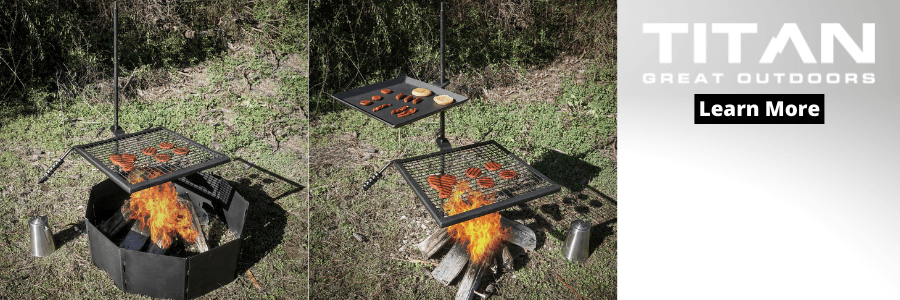 Fire Pit Cooking Grate Review - Titan