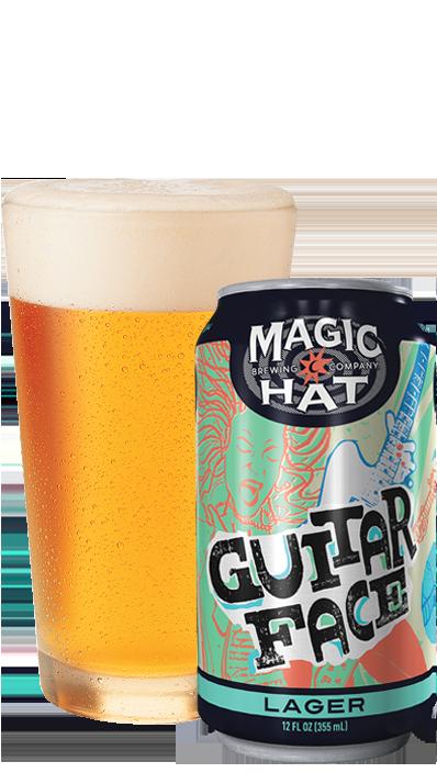 Guitar Face Bottle & Pint