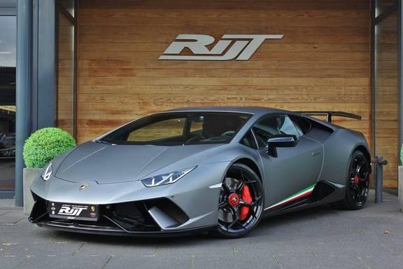 Lamborghini Huracan 5.2 V10 LP640-4 Performante **Keramisch/Centerlocks/Carbon Bucketseats/Grigio Titans**