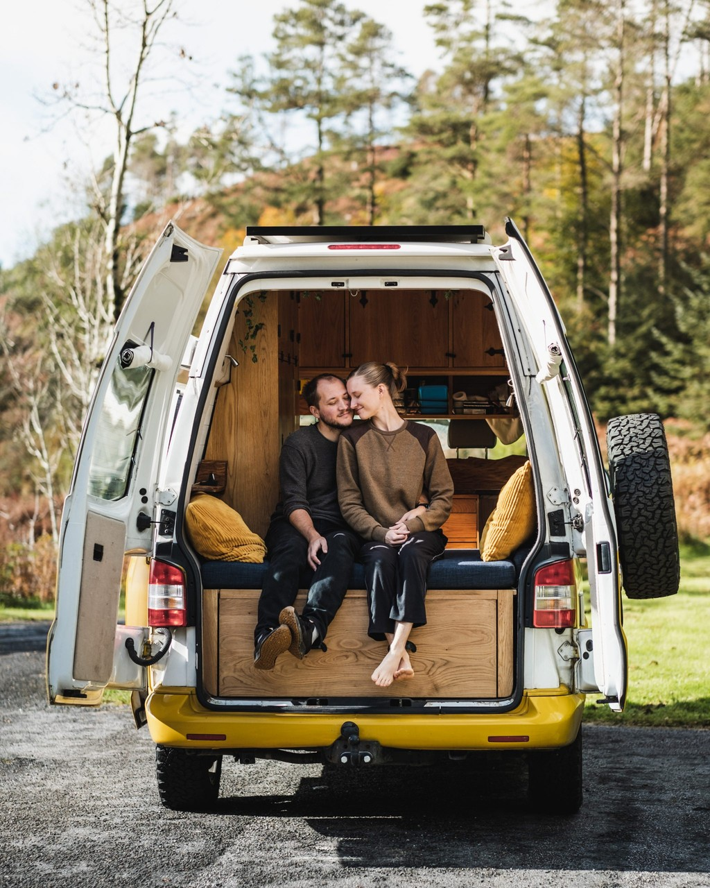 Our first van life adventure with Homer Roamer!