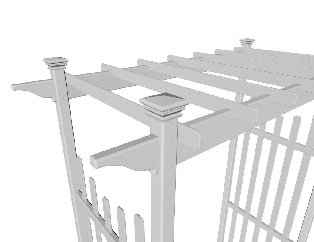 Cardiff Arbor wireframe dimensions