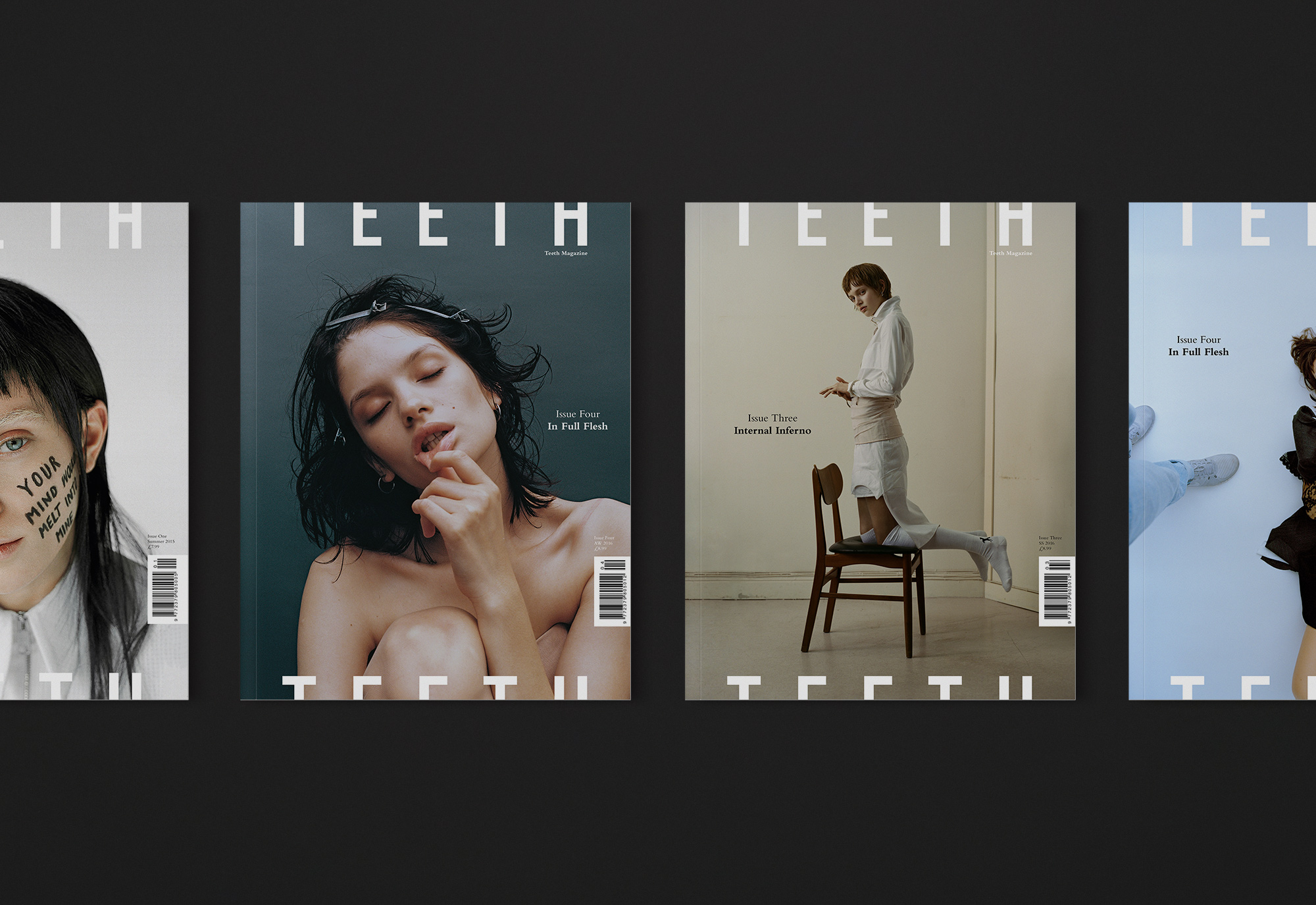 Teeth Magazine designed by She Was Only