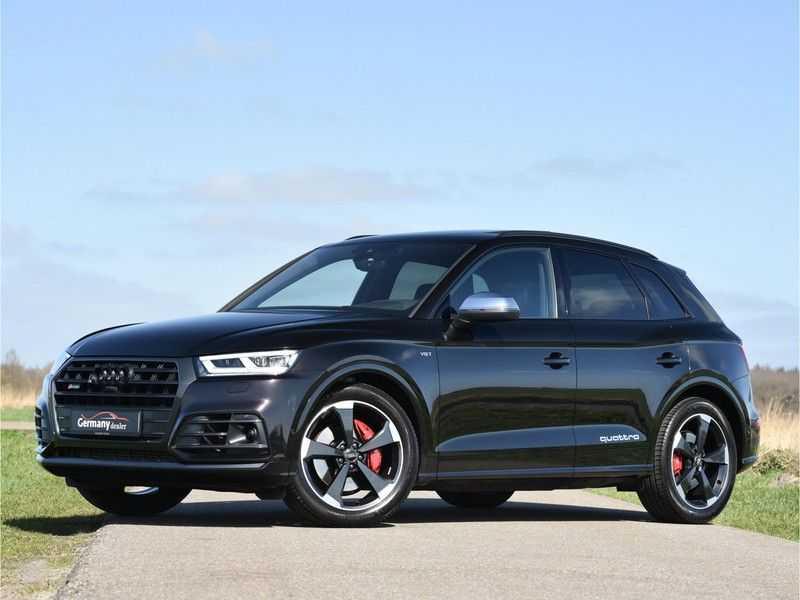 Audi SQ5 3.0TFSI 354pk Quattro Black Optic Alle Opties! Individual Lucht Tr.Haak Standk Ruitleder 360Cam afbeelding 5