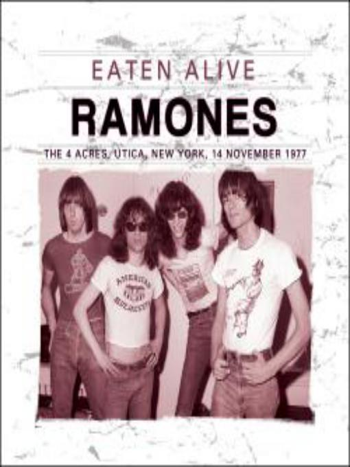 Eaten alive album. Ramones. 14 November 1977.
