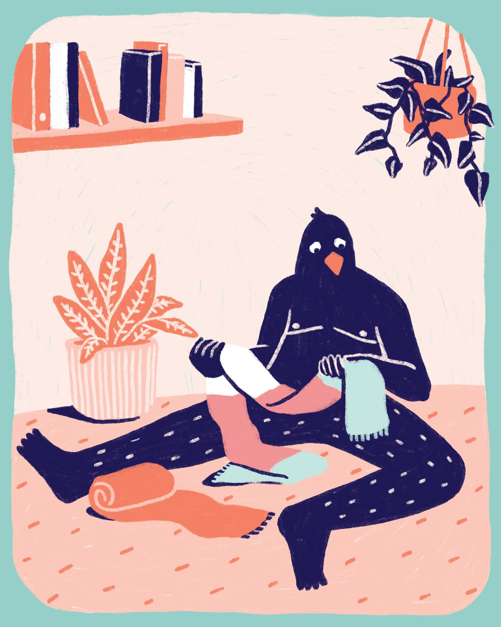Illustration: Peer Jongeling