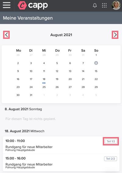 Screenshot Dozent Multipart