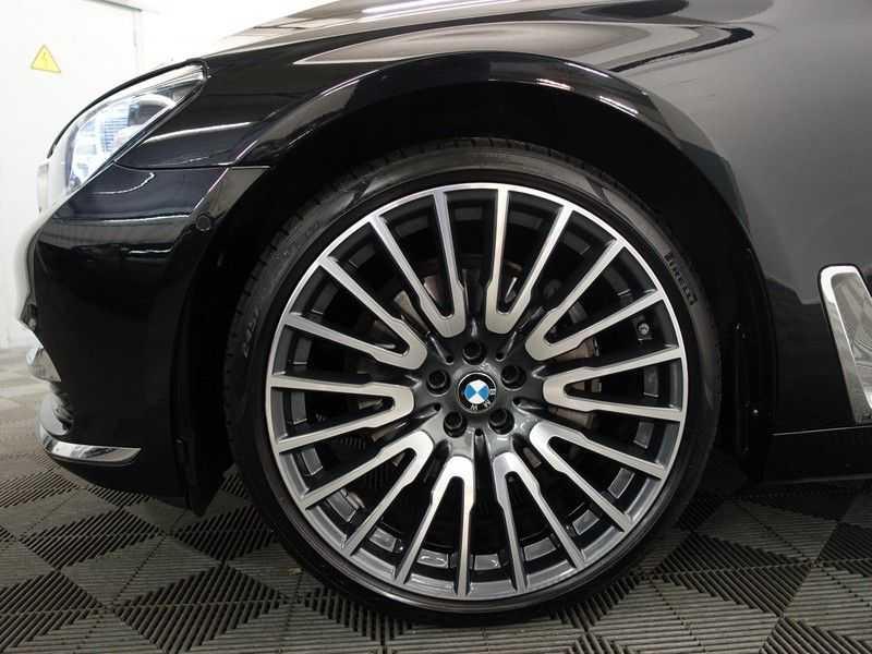 BMW 7 Serie 740D xDrive 320pk Individual M-Sport Aut8 Leer, 360 Camera, Full, 54 dkm afbeelding 11