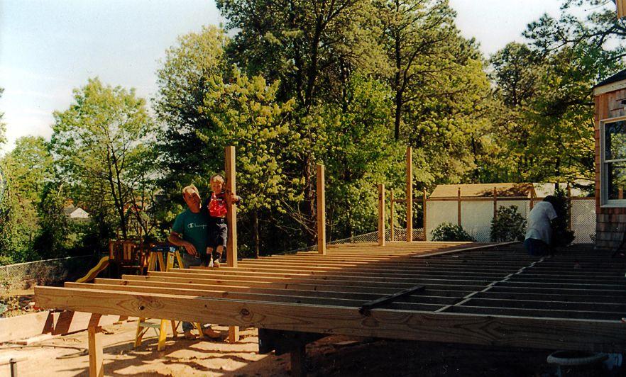 Deck Blakewood Construction 06