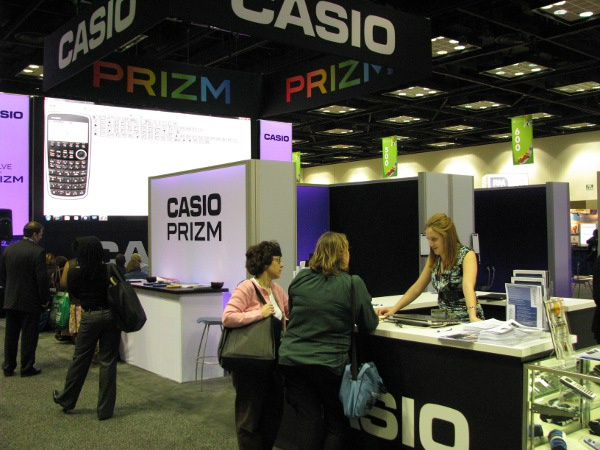Casio booth NCTM