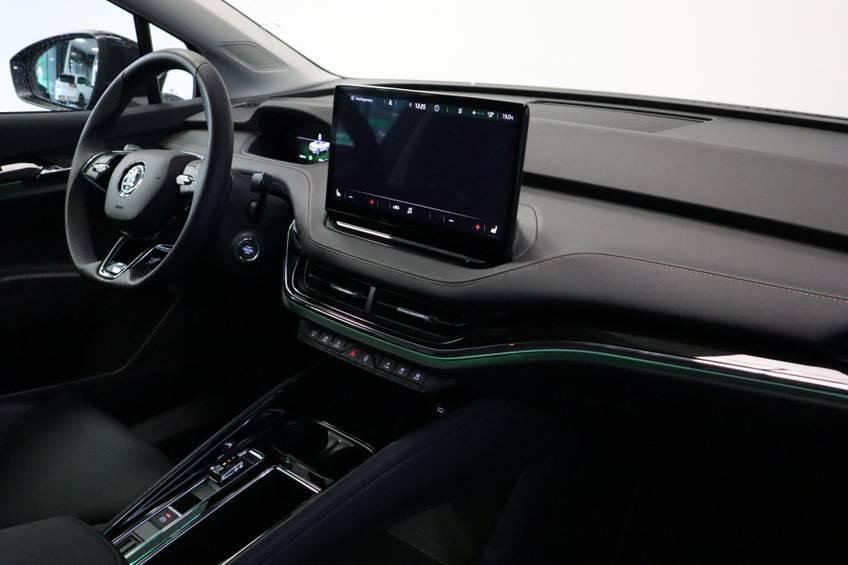 Škoda ENYAQ iV 80 First Edition Full-led Elec.Trekhaak 21'inch lmv Direct Leverbaar!! afbeelding 22