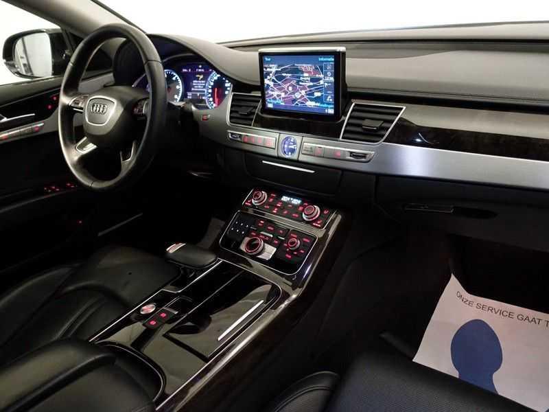 Audi A8 3.0 TDI Quattro Pro Line+ Exclusive 259pk Aut, Leer, Schuifdak, Bose, Led, Full afbeelding 13