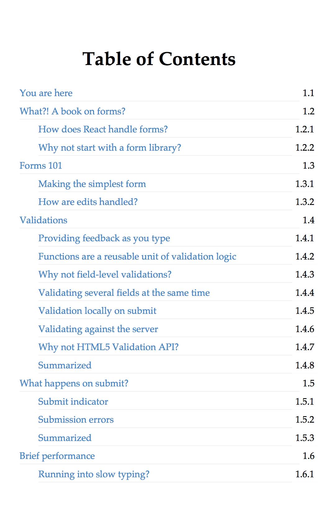 The Missing Forms Handbook of React - Gosha Arinich