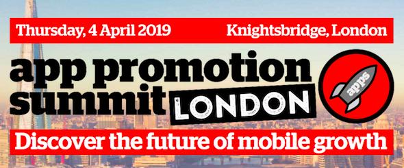 App Promotion Summit London 2019