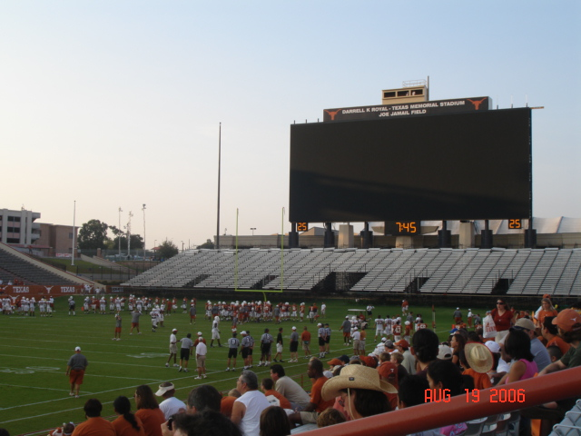 NEW DKR Memorial Stadium Jumbotron 2006