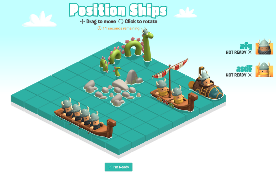 Position Ships