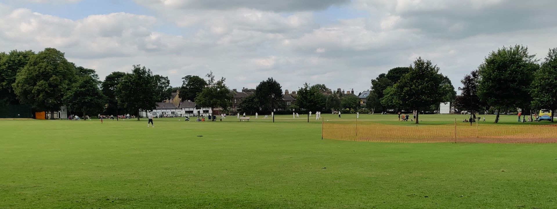 Calverley Victoria Park Cricket Pitch