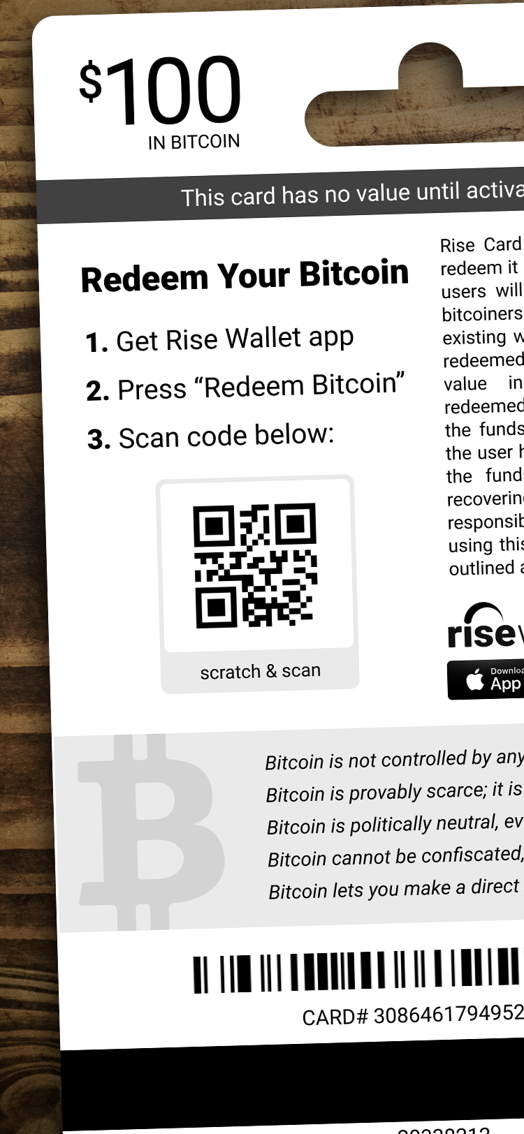 how to redeem bitcoin