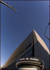 Vue du Palais de justice de Montréal.